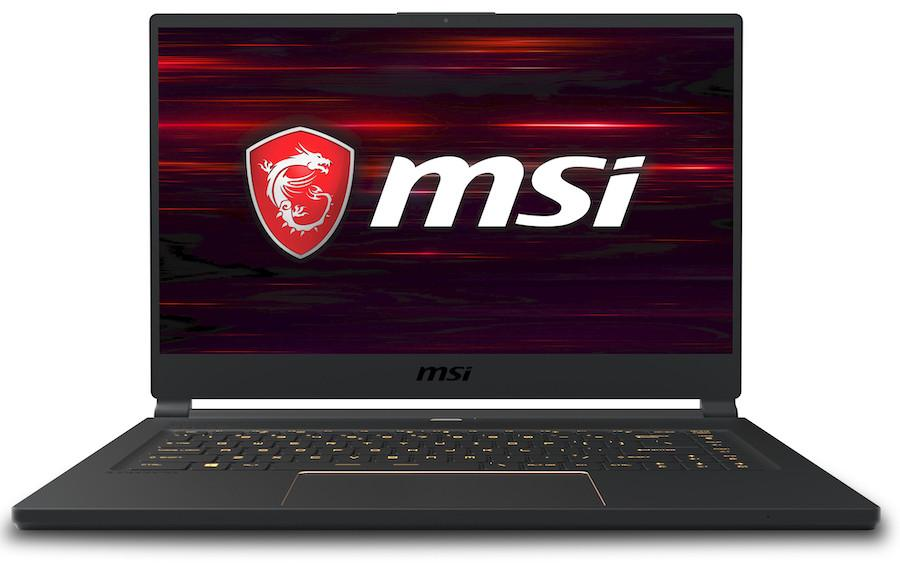 Image du PC portable MSI GS65 8SF-051FR Stealth - RTX 2070 Max-Q, 144Hz