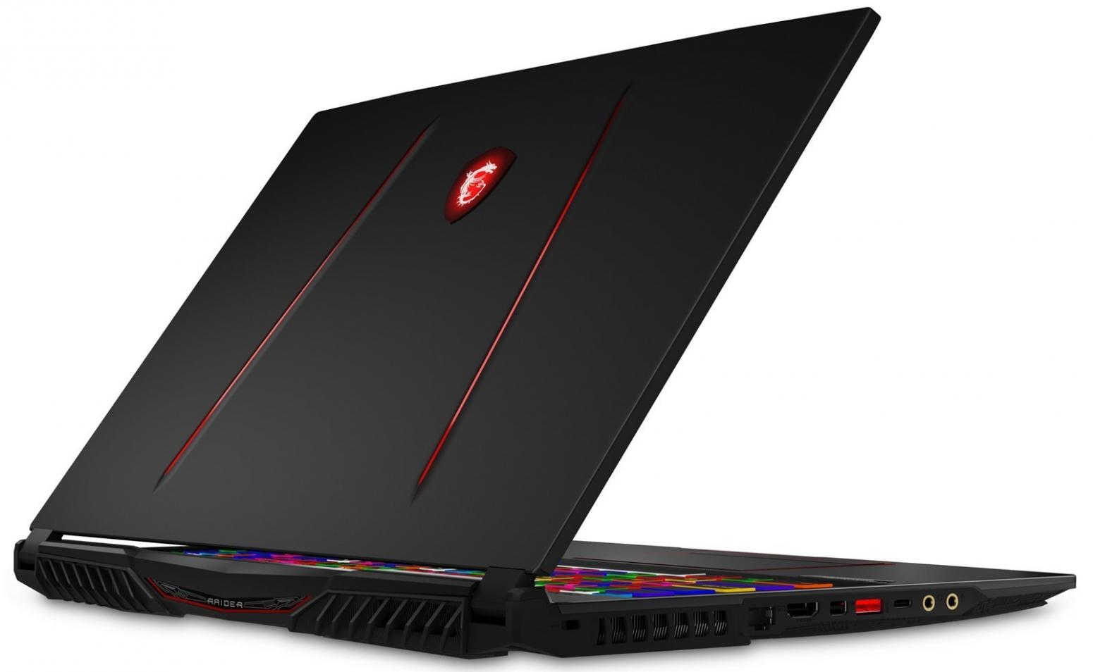 Ordinateur portable MSI GE75 8SG-059FR Raider - RTX 2080, 144Hz - photo 6