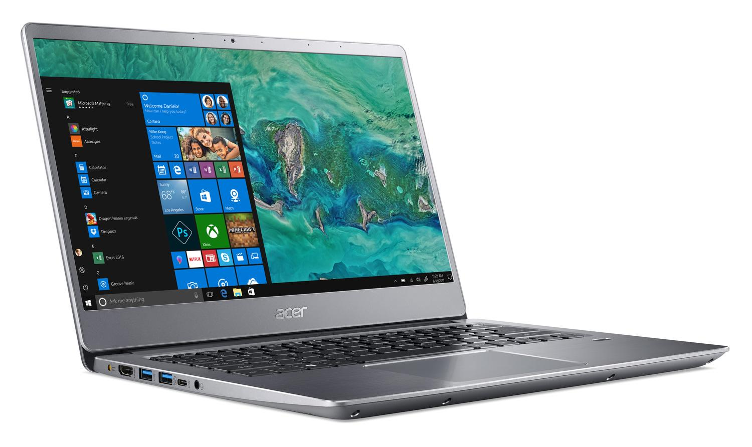 Image du PC portable Acer Swift 3 SF314-56G-771Y Argent - Whiskey Lake