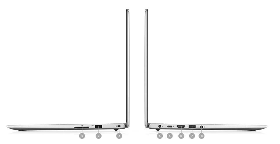 Ordinateur portable Dell Inspiron 13 7000 (7380) - SSD 256 Go, Whiskey Lake Quad i5 - photo 6