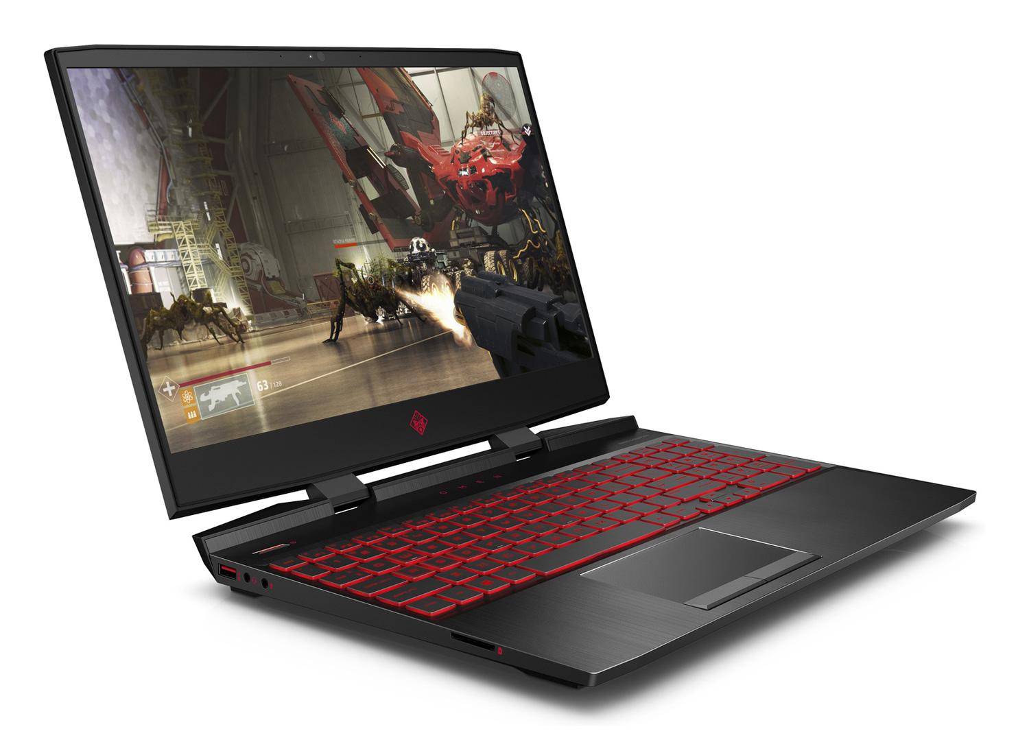 Image du PC portable HP Omen 15-dc1005nf - RTX 2070 Turing, IPS 144Hz
