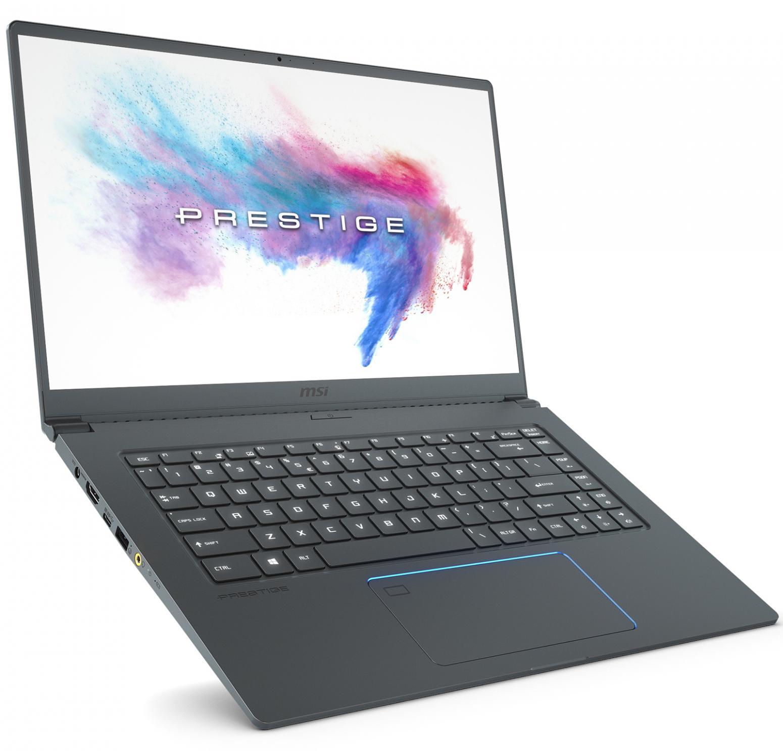 Image du PC portable MSI PS63 8RDS-202FR Modern Gris Bleu - GTX 1050 Ti Max-Q