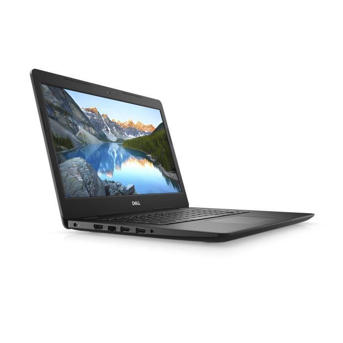Image du PC portable Dell Inspiron 14 3482 Noir - N5000, SSD 256 Go