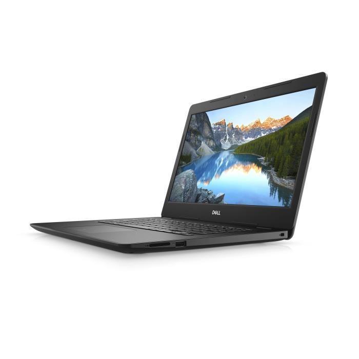 Ordinateur portable Dell Inspiron 14 3482 Noir - N5000, SSD 256 Go - photo 5