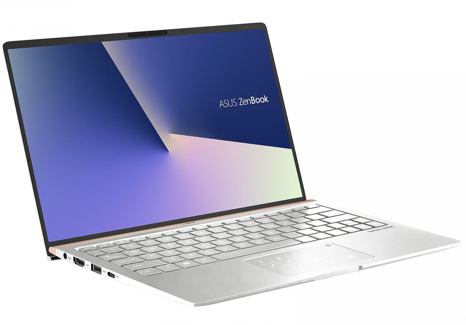 Image du PC portable Asus Zenbook 13 UX333FA-A3238R Argent - NumPad, Pro