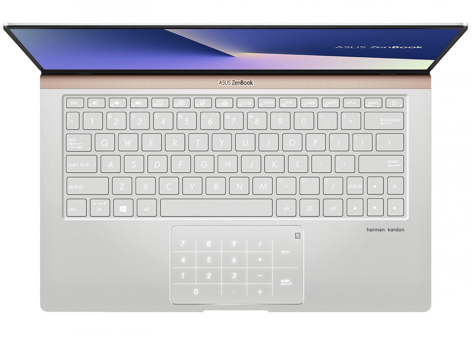 Ordinateur portable Asus Zenbook 13 UX333FA-A3132R Argent - NumPad, Pro - photo 3