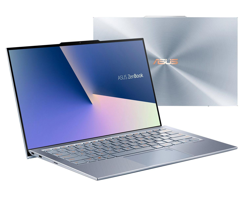 Image du PC portable Asus Zenbook S UX392FA-AB016T Argent Bleu
