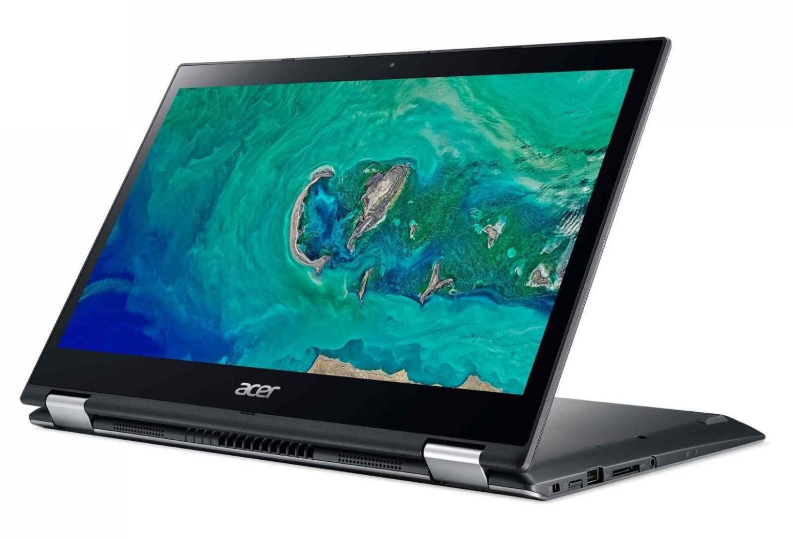 Ordinateur portable Acer Spin 3 SP314-52-5565 Gris - Tactile - photo 3