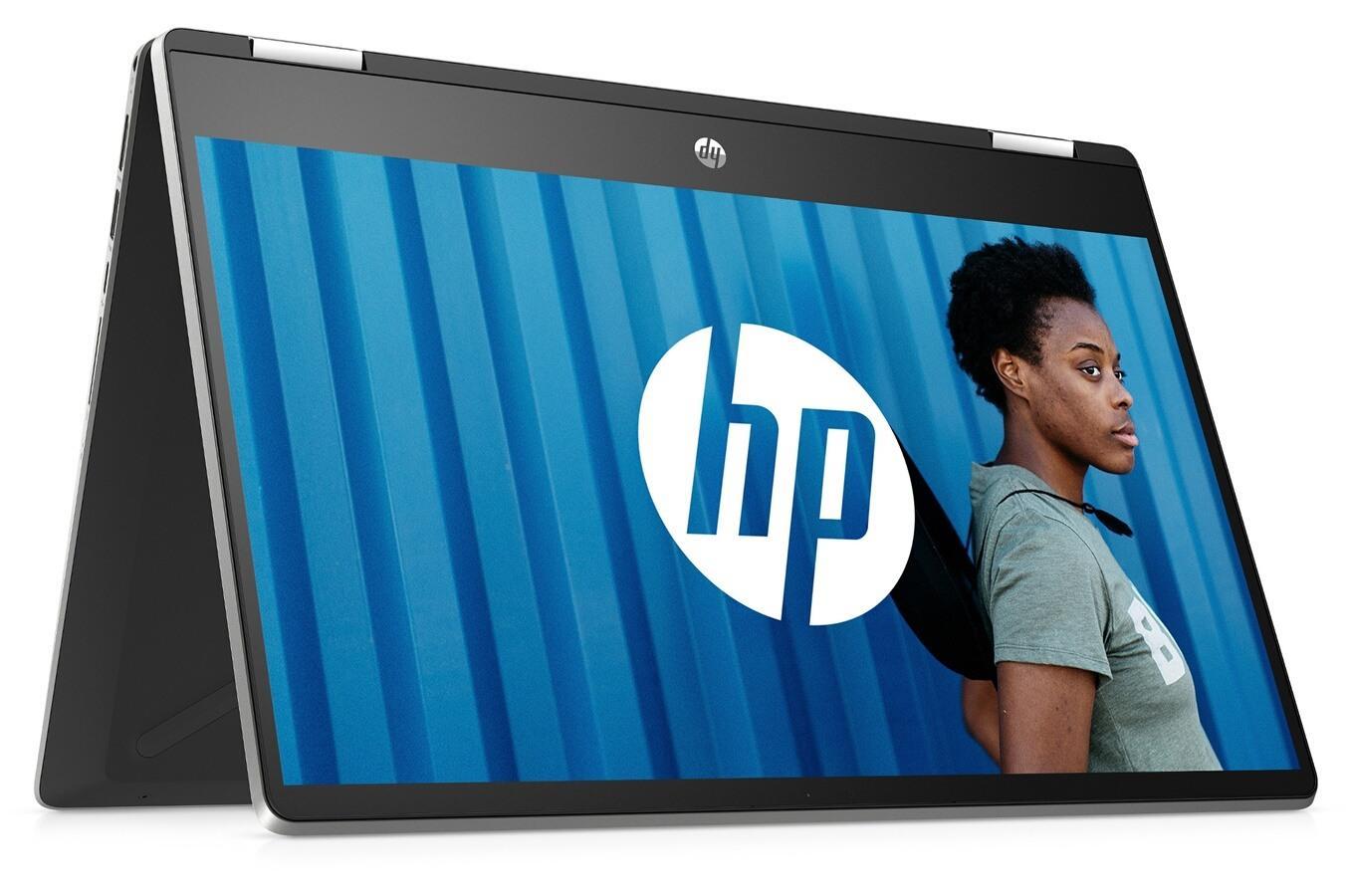Image du PC portable HP Pavilion x360 14-dh0049nf Argent - Tactile