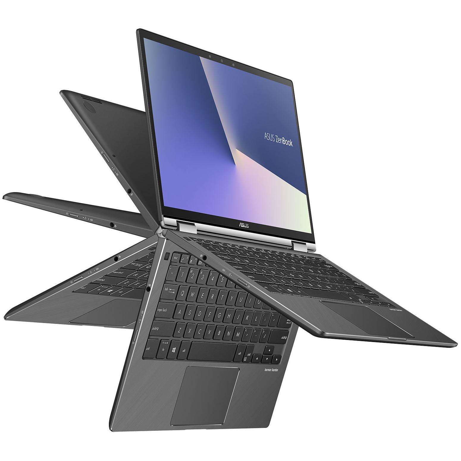 Ordinateur portable Asus ZenBook Flip UX362FA-EL093R Gris - Pro - photo 2
