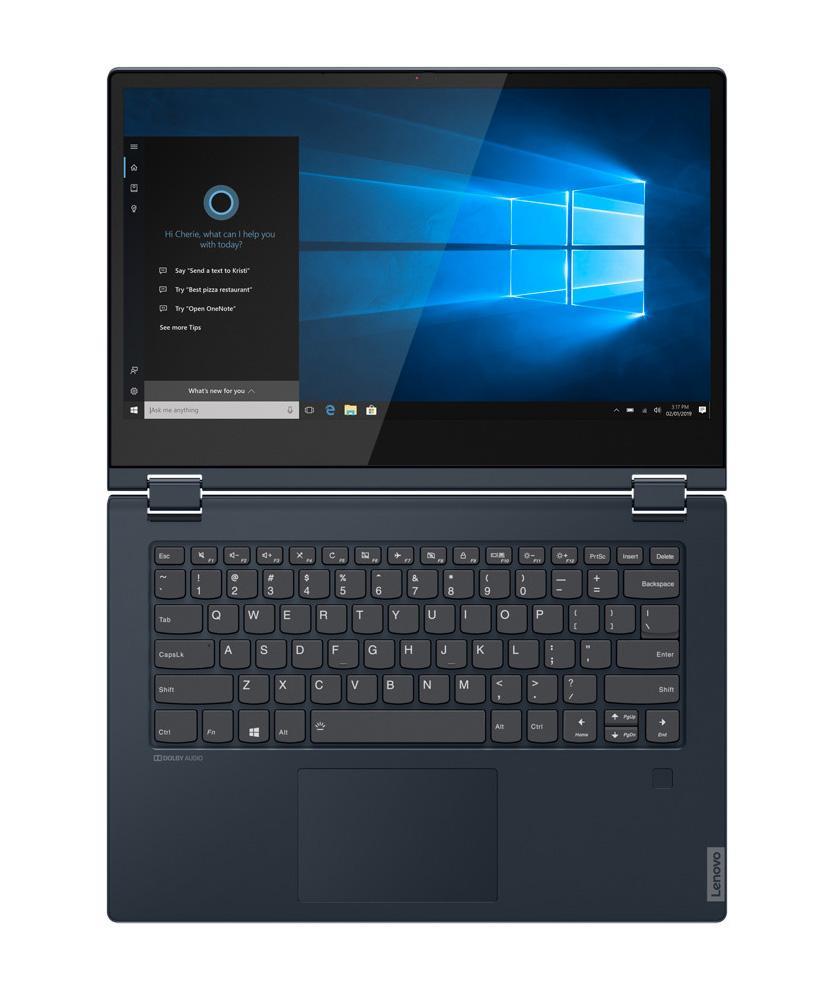 Ordinateur portable Lenovo IdeaPad C340-14IWL (81N40032FR) Bleu - SSD 512 Go - photo 2