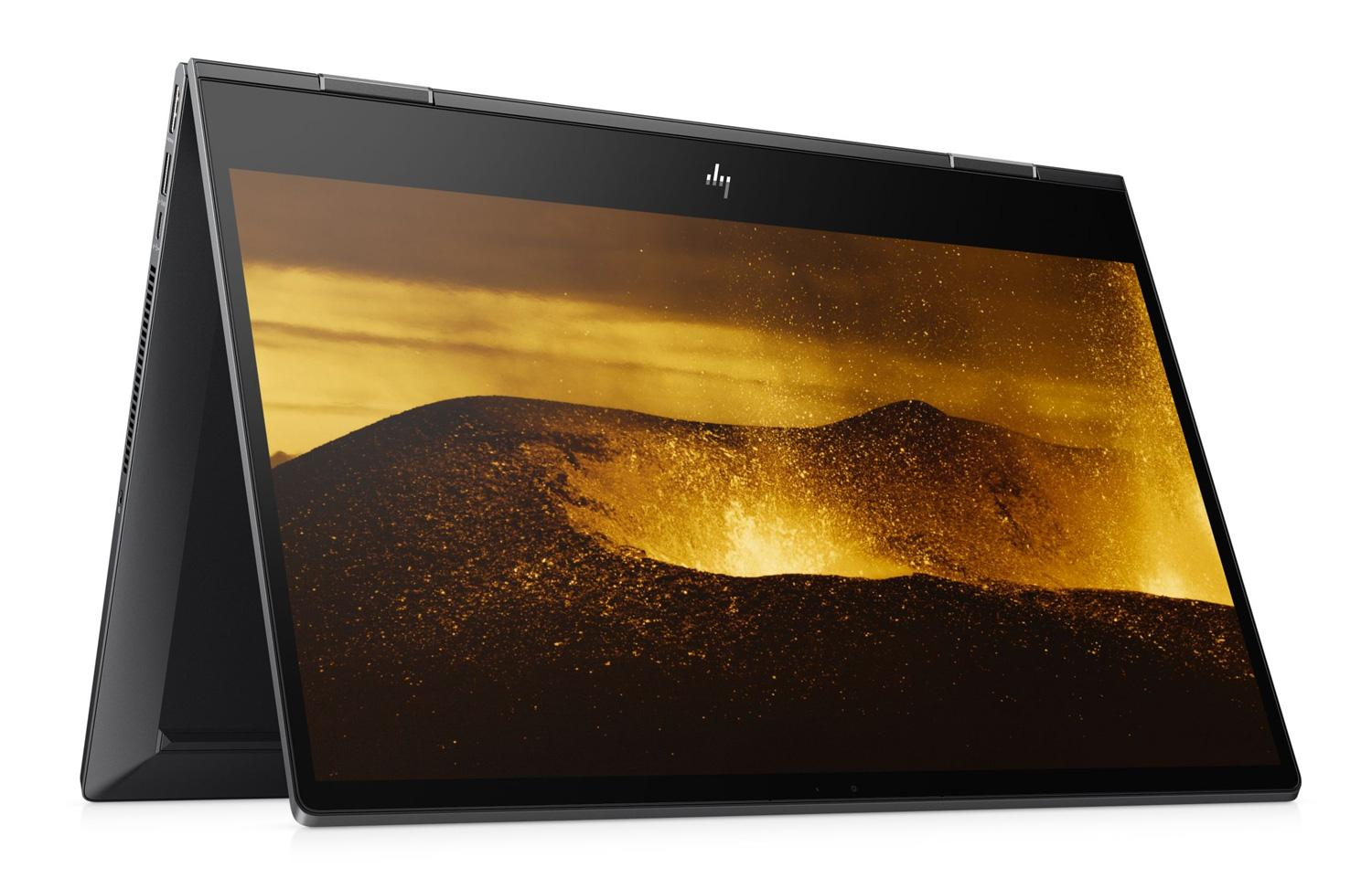 Image du PC portable HP Envy x360 15-ds0004nf Noir cendre tactile - AMD Ryzen 5