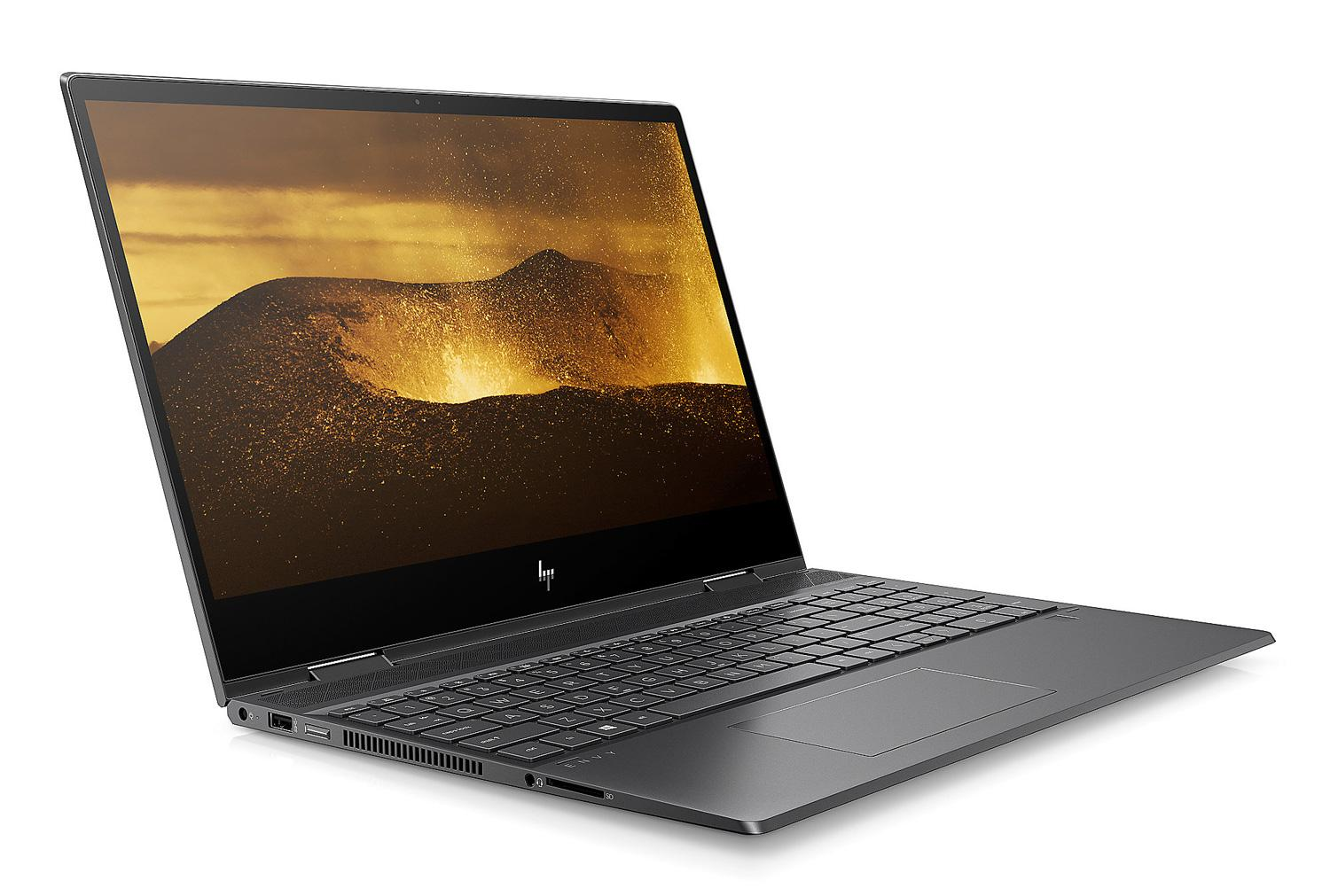Ordinateur portable HP Envy x360 15-ds0004nf Noir cendre tactile - AMD Ryzen 5 - photo 2