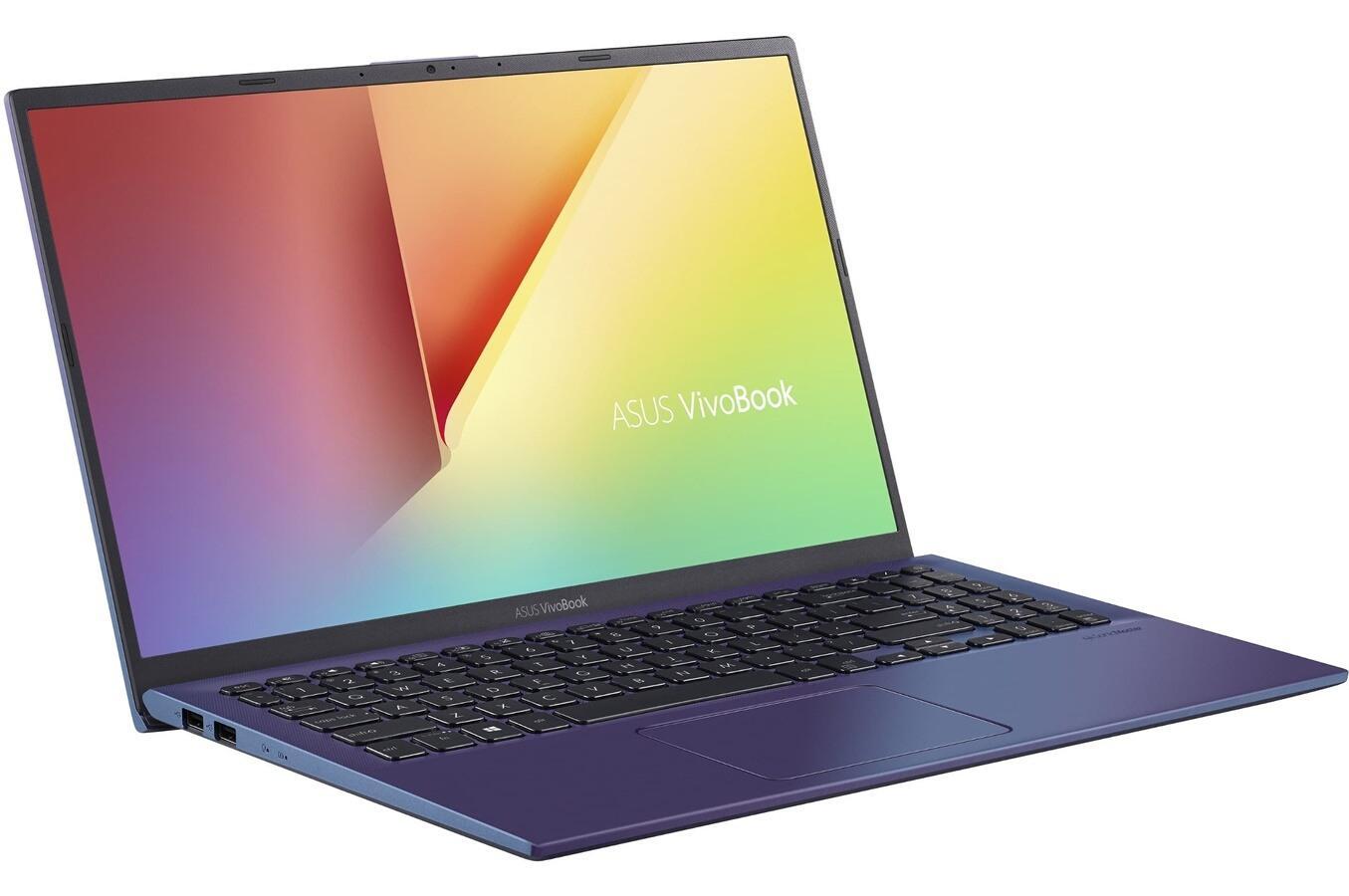 Image du PC portable Asus VivoBook S512DA-EJ803T Bleu - Ryzen 3, SSD 512 Go