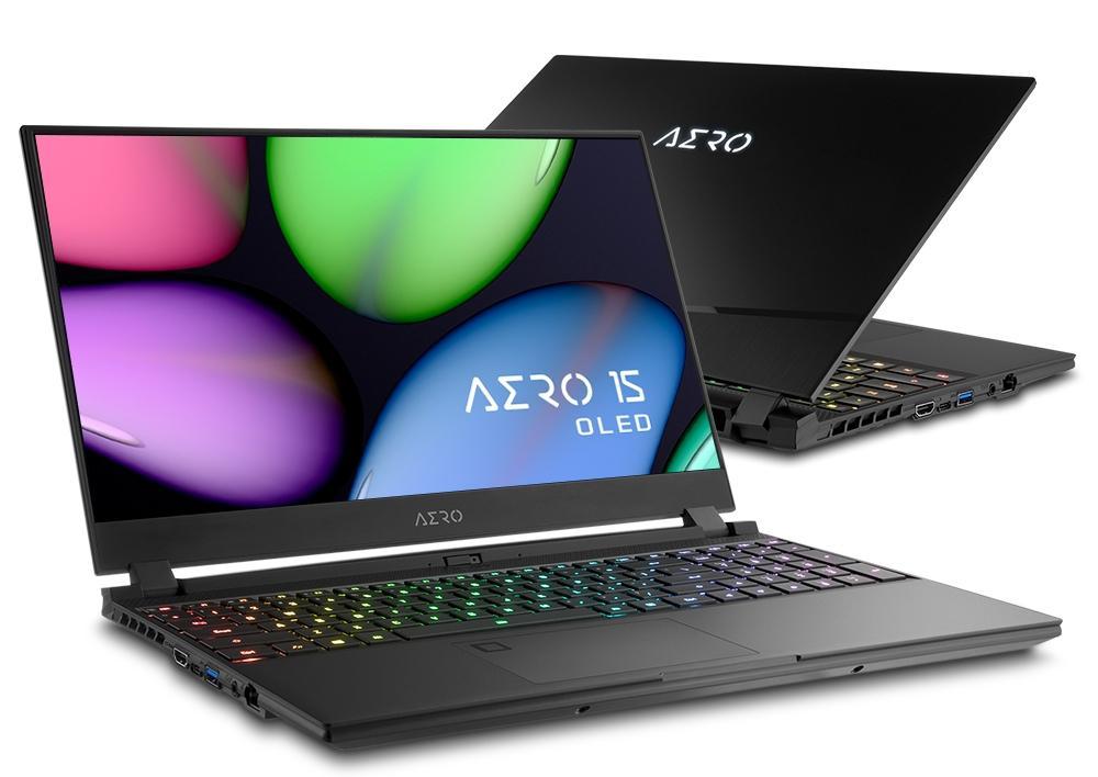 Image du PC portable Gigabyte Aero 15 OLED YA-7FR5450SP - 4K, RTX 2080 Max-Q