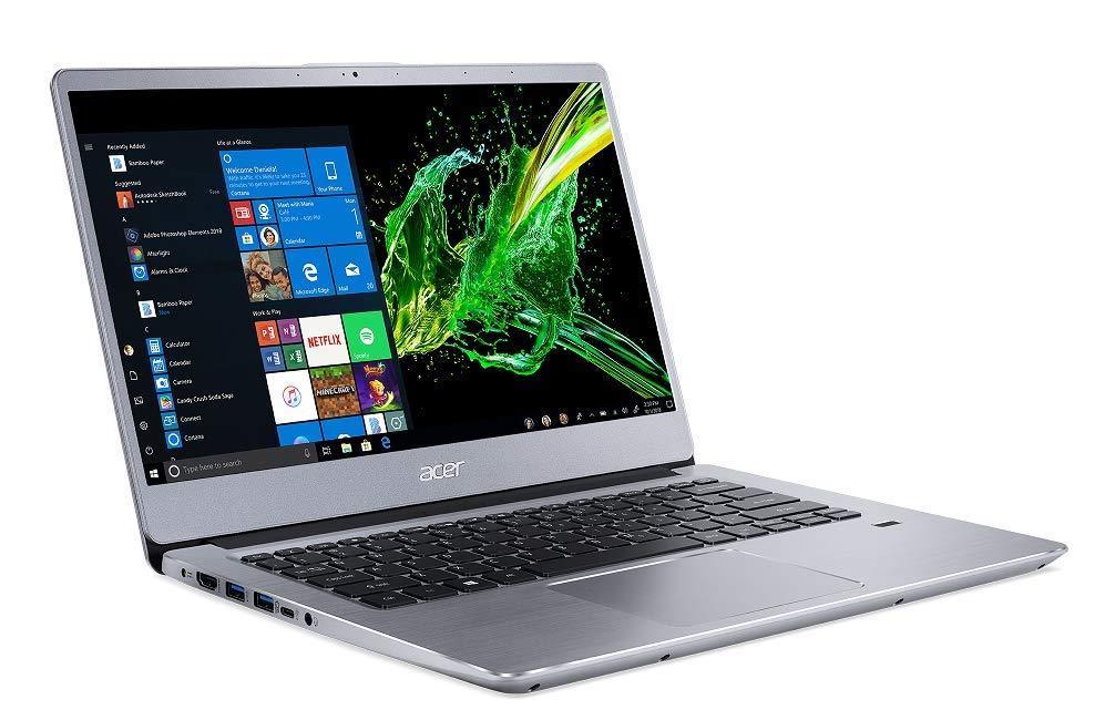 Image du PC portable Acer Swift 3 SF314-41-R1X6 (NX.HFDEF.005) Argent - Ryzen 5