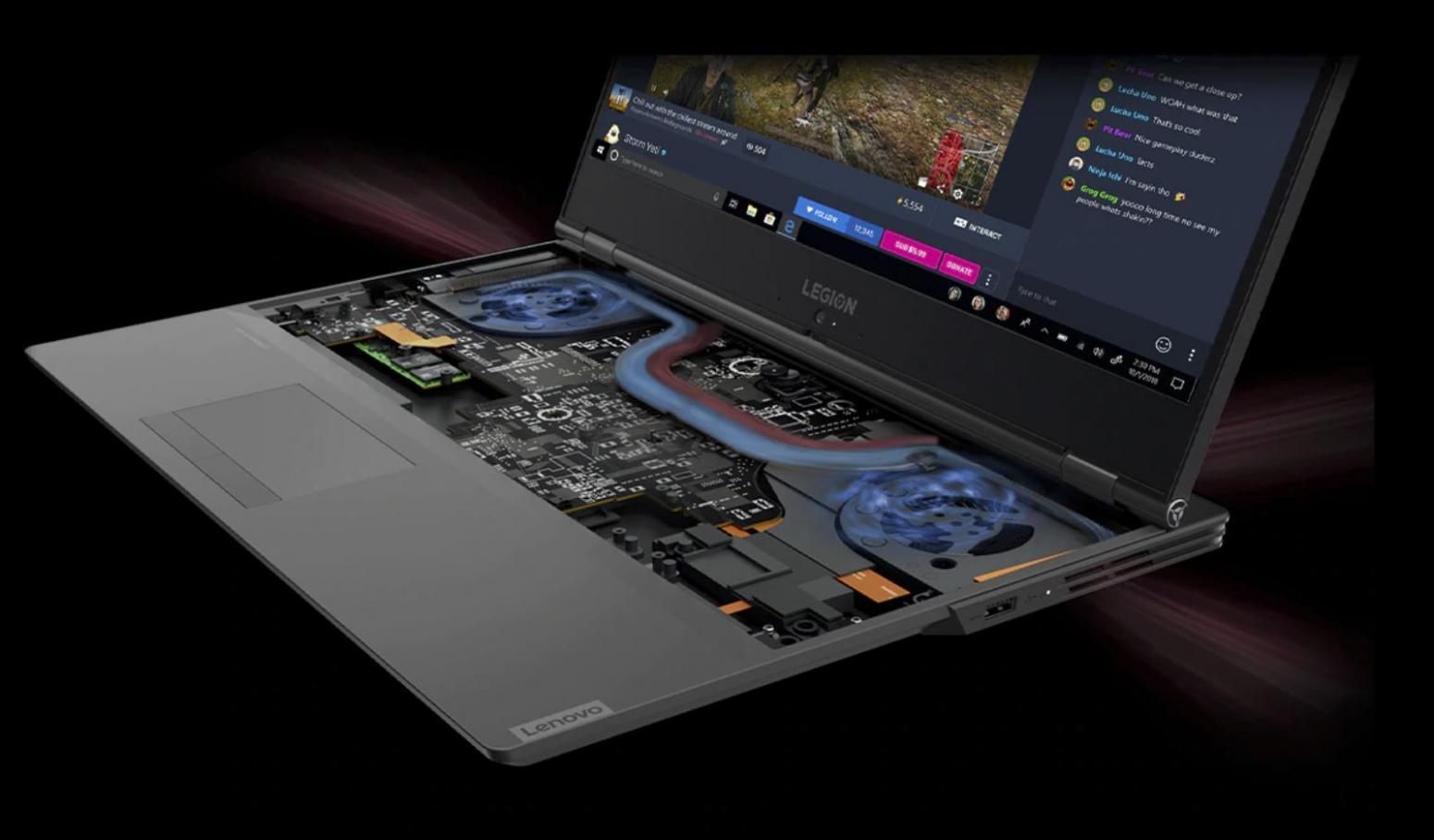 Ordinateur portable Lenovo Legion Y540-17IRH (81Q4008UFR) - GTX 1660 Ti, IPS 144Hz - photo 6