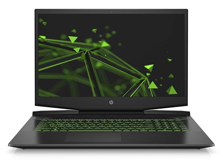 Ordinateur portable HP Pavilion Gaming 17-cd1082nf Noir/Vert - GTX 1650 - photo 2