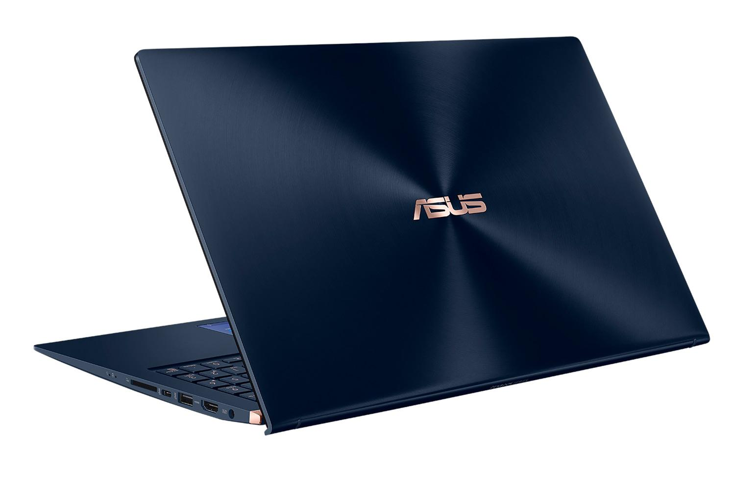 Image du PC portable Asus ZenBook UX534FT-AA025R Bleu - 4K, GTX 1650 Max-Q, SSD 1 To, ScreenPad