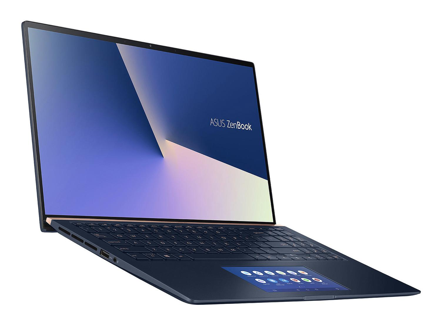 Ordinateur portable Asus ZenBook UX534FT-AA025R Bleu - 4K, GTX 1650 Max-Q, SSD 1 To, ScreenPad - photo 3