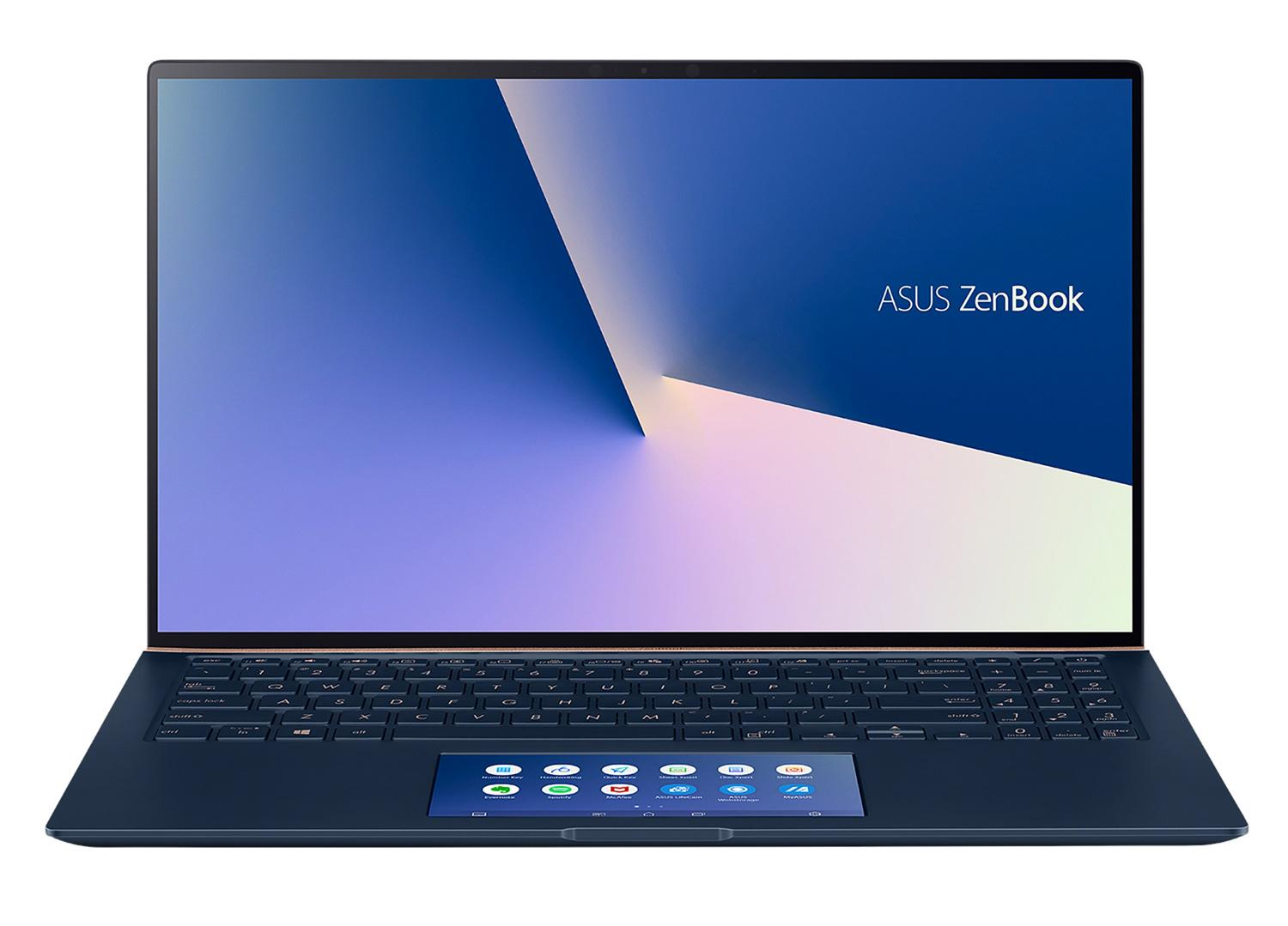 Ordinateur portable Asus ZenBook UX534FT-A9011T Bleu - GTX 1650 Max-Q, SSD 1 To, ScreenPad - photo 4
