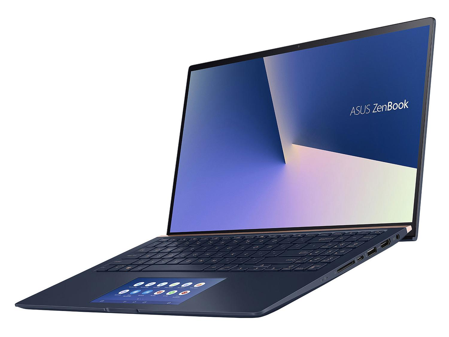 Ordinateur portable Asus ZenBook UX534FT-AA025R Bleu - 4K, GTX 1650 Max-Q, SSD 1 To, ScreenPad - photo 5