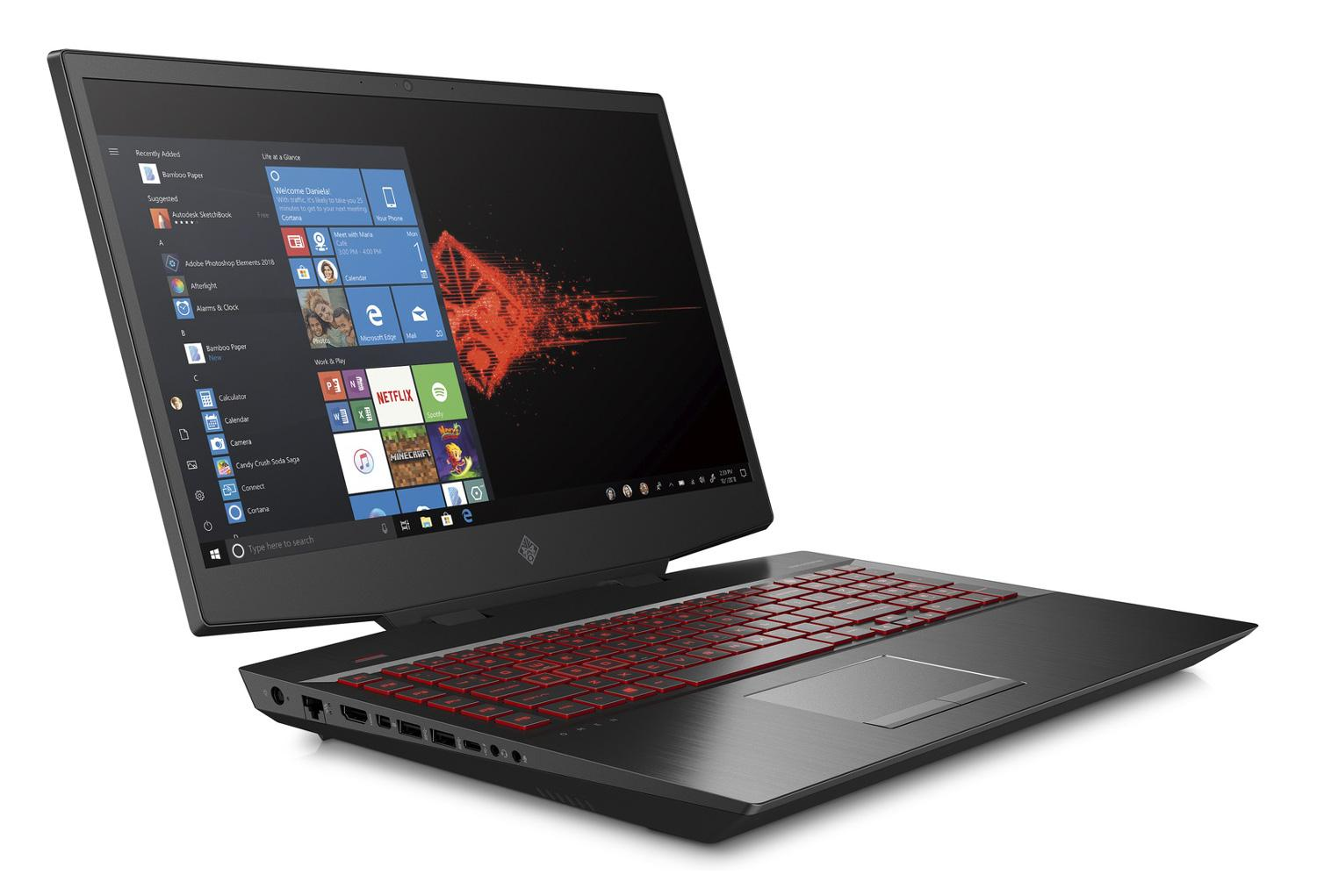 Image du PC portable HP Omen 17-cb0037nf - Core i9, RTX 2080, IPS 144Hz, SSD Optane H10