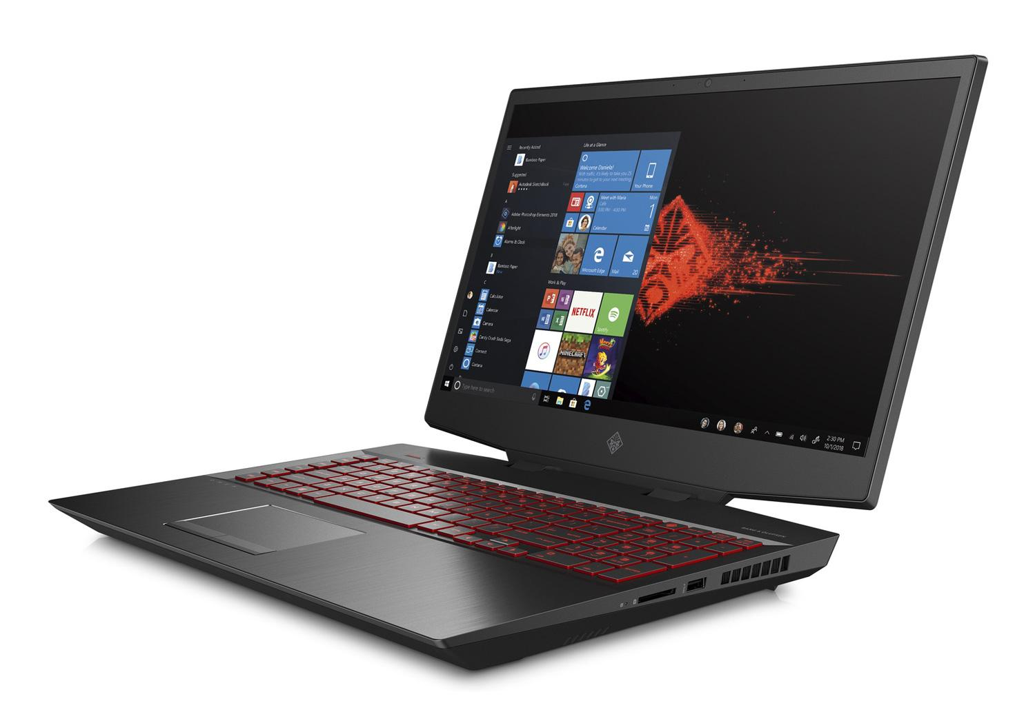 Ordinateur portable HP Omen 17-cb0037nf - Core i9, RTX 2080, IPS 144Hz, SSD Optane H10 - photo 3