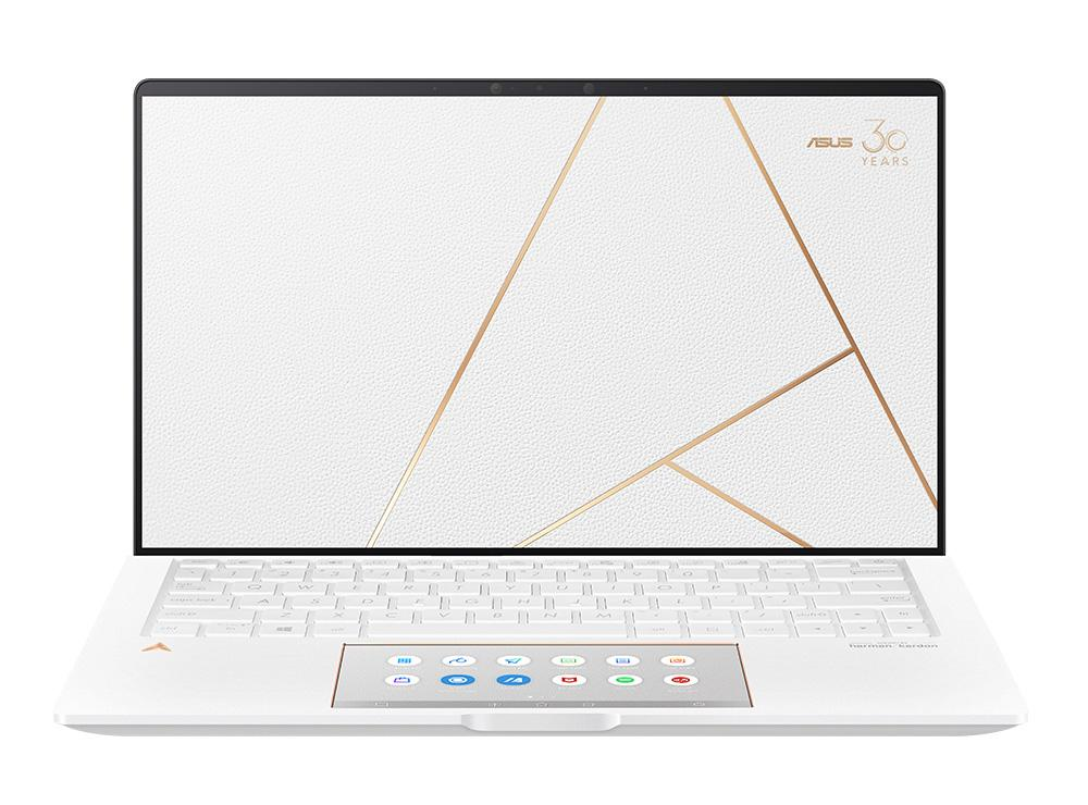 Ordinateur portable Asus Zenbook Edition 30 UX334FL-A4021T Cuir blanc - MX250, SSD 1 To, ScreenPad - photo 2