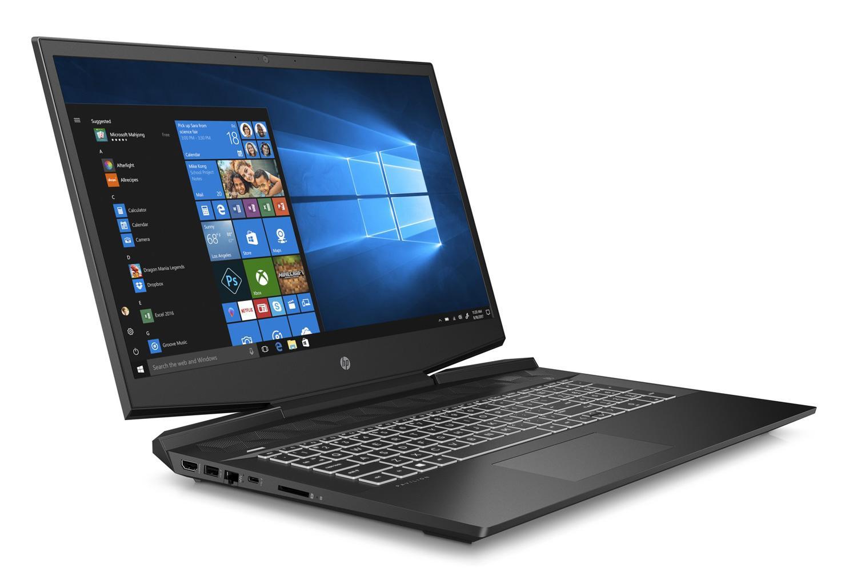 Image du PC portable HP Pavilion Gaming 17-cd0077nf Noir/Blanc - GTX 1650, Sans Windows
