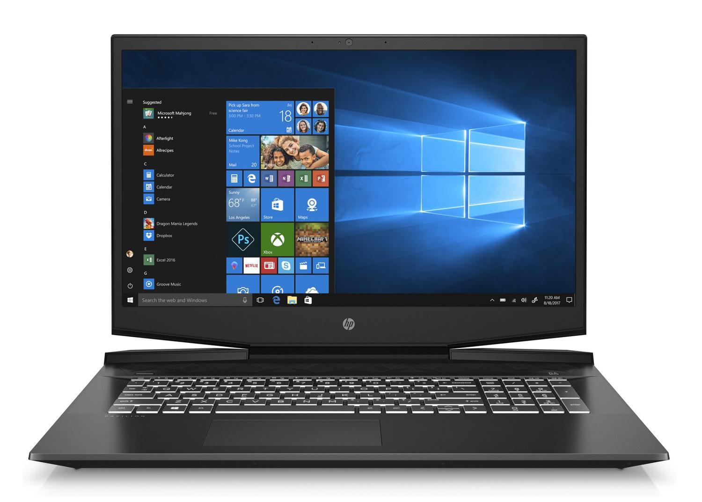 Ordinateur portable HP Pavilion Gaming 17-cd0077nf Noir/Blanc - GTX 1650, Sans Windows - photo 2