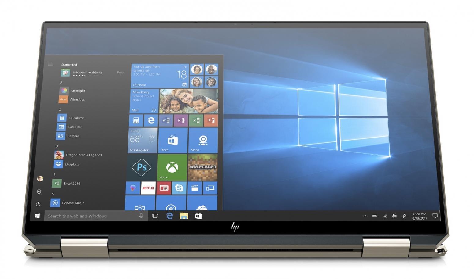 Ordinateur portable HP Spectre x360 13-aw0009nf Bleu Noir - photo 3