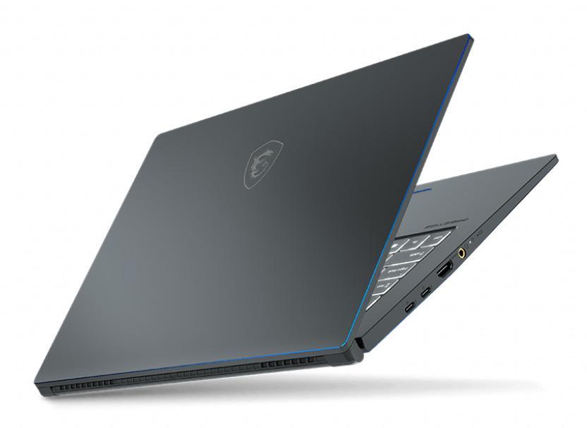 Image du PC portable MSI Prestige 15 A10SC-056FR Gris - GTX 1650 Max-Q, Pro
