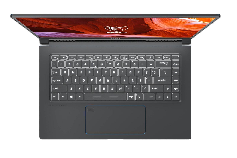 Ordinateur portable MSI Prestige 15 A10SC-056FR Gris - GTX 1650 Max-Q, Pro - photo 2