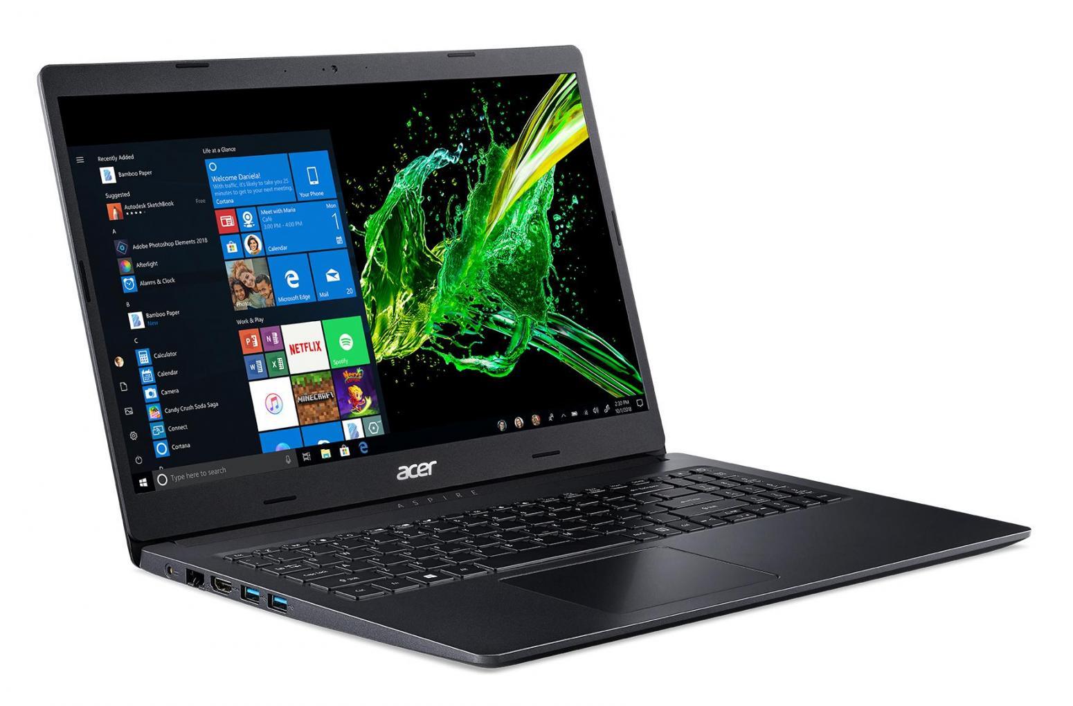 Ordinateur portable Acer Aspire 3 A315-55G-550F Noir - MX230, 1.1 To - photo 2