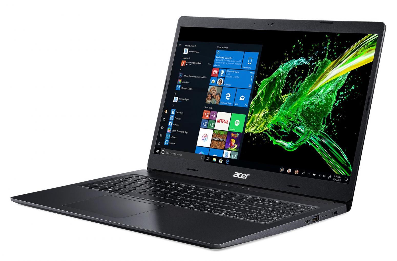 Ordinateur portable Acer Aspire 3 A315-55G-550F Noir - MX230, 1.1 To - photo 3