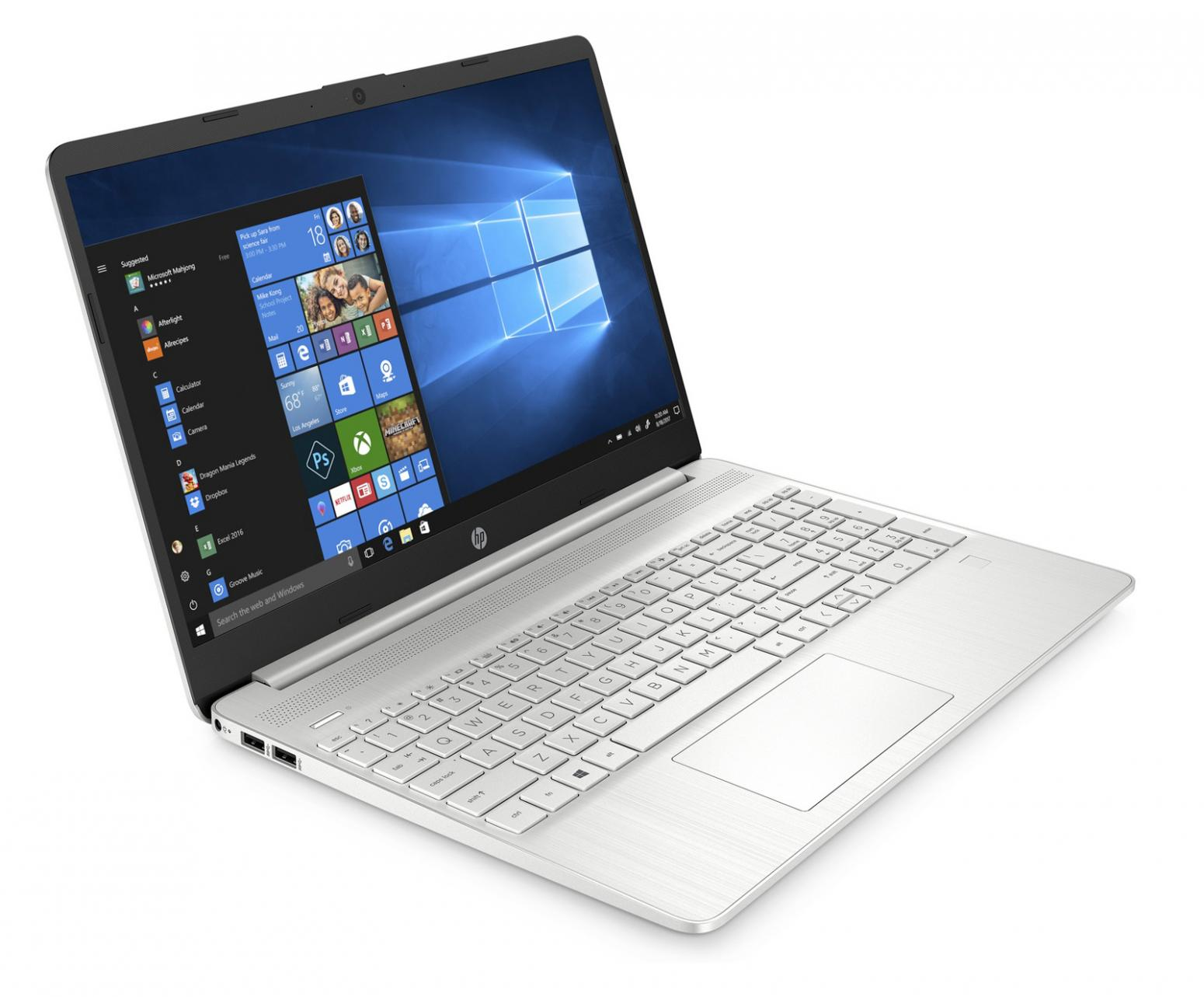 Image du PC portable HP 15s-eq1107nf Argent