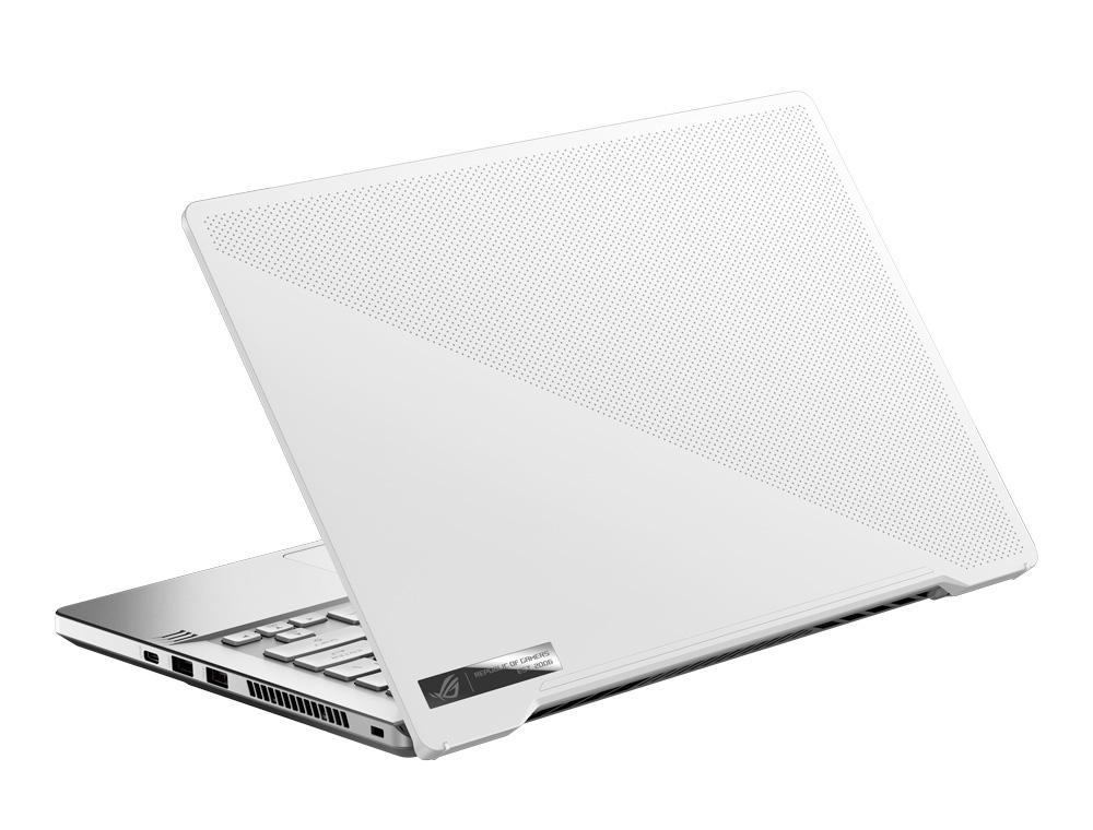 Ordinateur portable Asus ROG Zephyrus G14 GA401IV-120T Blanc/Argent - QHD, Ryzen 9, RTX 2060 Max-Q - photo 6
