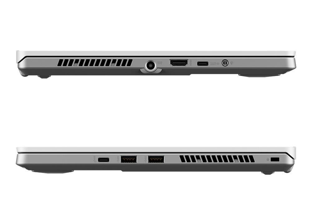 Ordinateur portable Asus ROG Zephyrus G14 GA401IV-120T Blanc/Argent - QHD, Ryzen 9, RTX 2060 Max-Q - photo 7