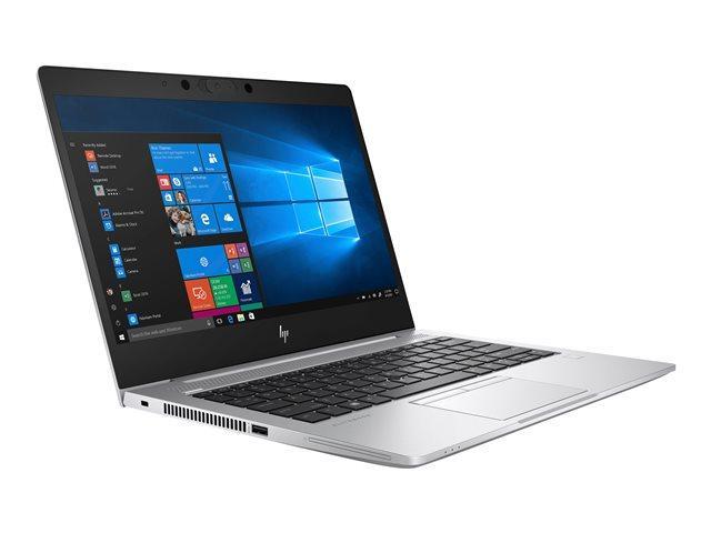 Image du PC portable HP EliteBook 735 G6 (7KP19EA) Argent - Ryzen 7, SSD 512 Go, Pro, garanti 3 ans