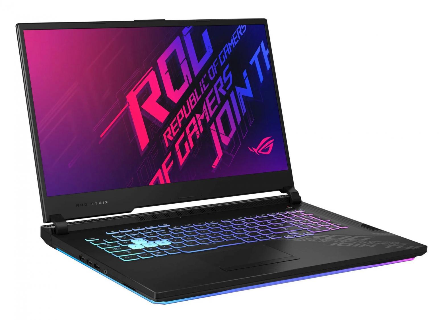 Image du PC portable Asus ROG Strix G17 G712LU-H7023T - 120Hz, GTX 1660 Ti