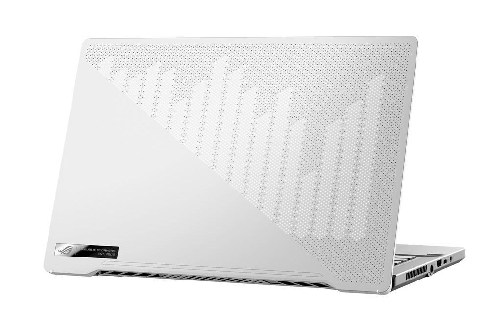 Image du PC portable Asus ROG Zephyrus G14 GA401IV-120T Blanc/Argent - QHD, Ryzen 9, RTX 2060 Max-Q