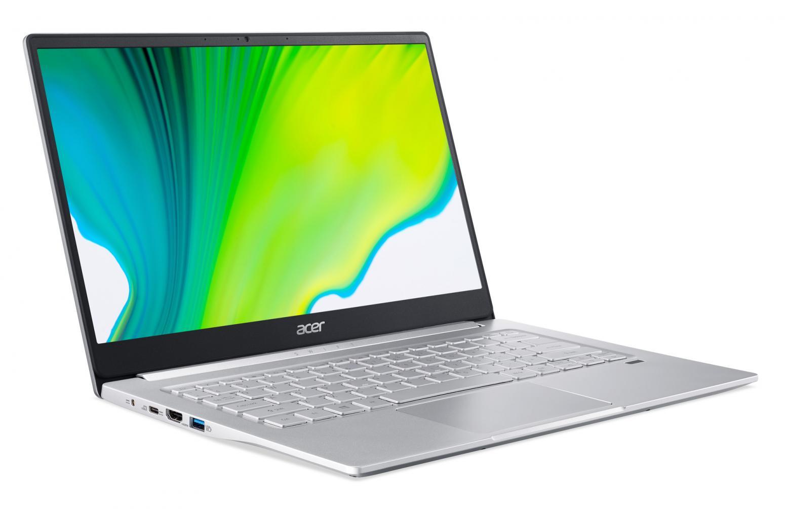 Image du PC portable Acer Swift 3 SF314-42-R8KM Argent - Ryzen 7 Octo Core