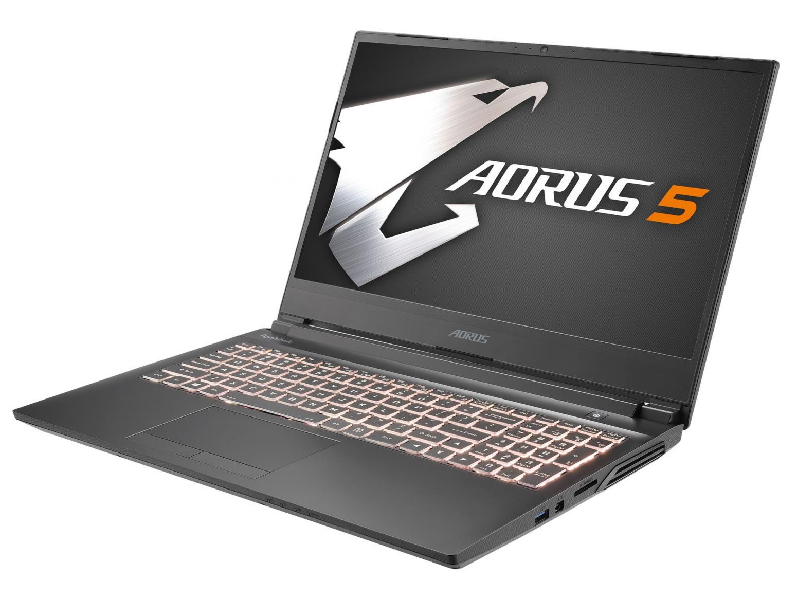 Ordinateur portable Aorus 5 KB-7FR1130SH - GeForce RTX 2060, 144Hz, SSD 512 Go, Comet-H - photo 7
