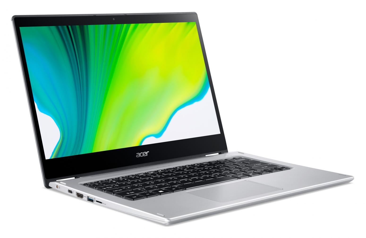 Ordinateur portable Acer Spin 3 SP314-54N-52H9 Argent - Tactile, Stylet - photo 2
