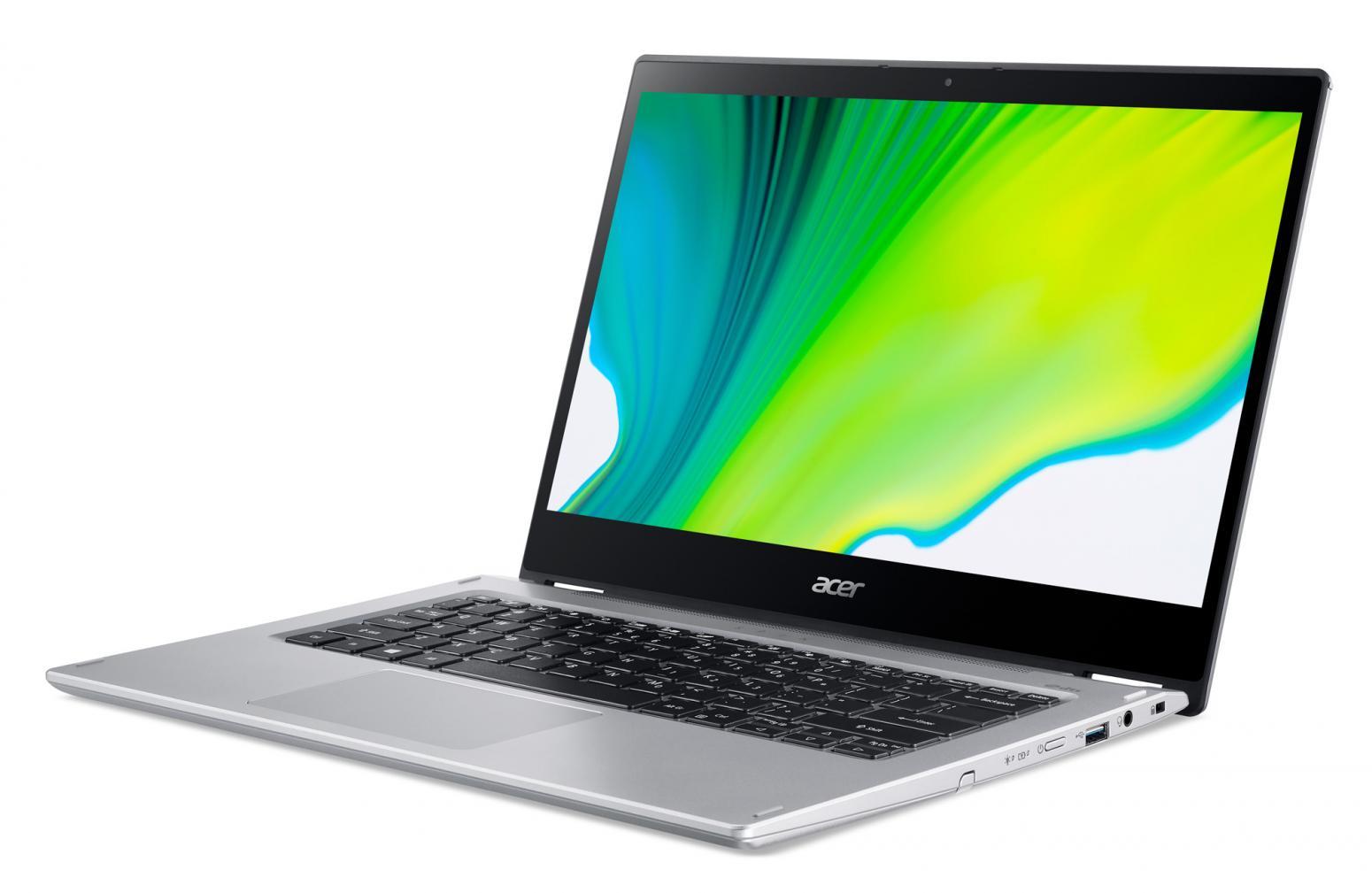 Ordinateur portable Acer Spin 3 SP314-54N-52H9 Argent - Tactile, Stylet - photo 4
