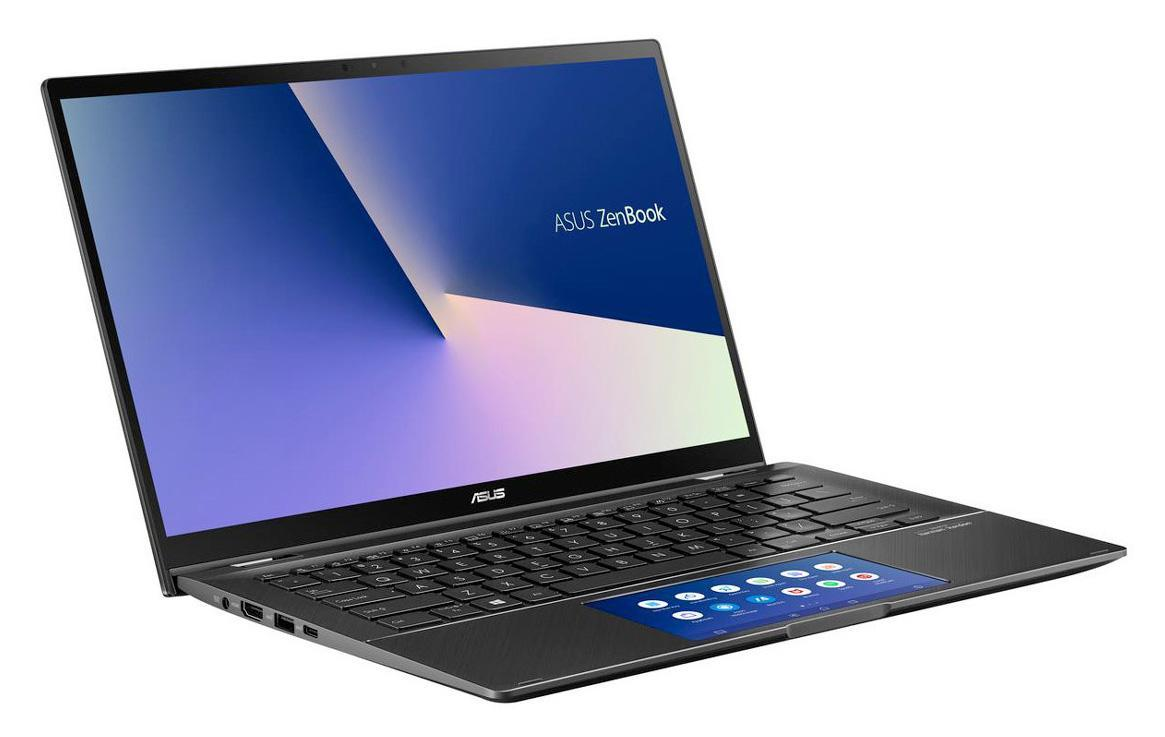 Ordinateur portable Asus Zenbook Flip UX463FA-AI077T Gris - ScreenPad - photo 2