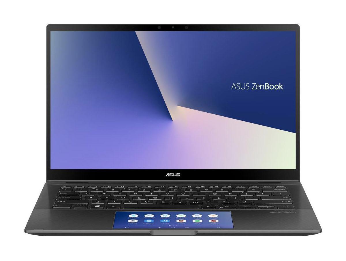 Ordinateur portable Asus Zenbook Flip UX463FA-AI077T Gris - ScreenPad - photo 3