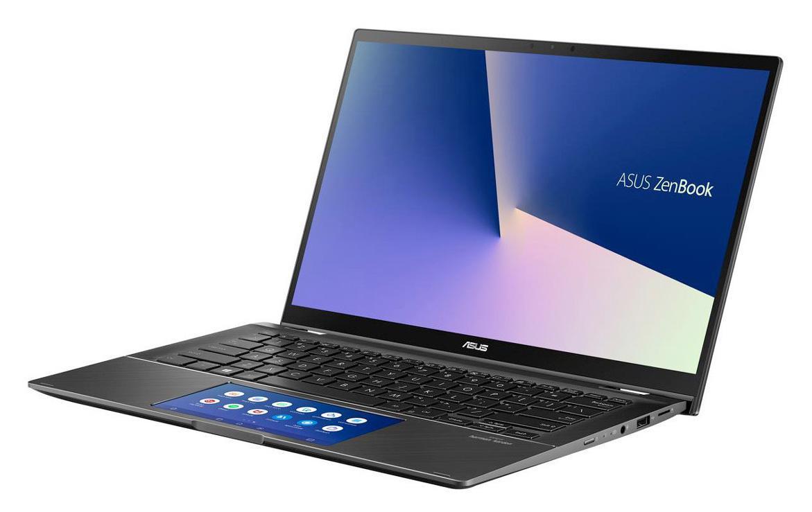 Ordinateur portable Asus Zenbook Flip UX463FA-AI077T Gris - ScreenPad - photo 4