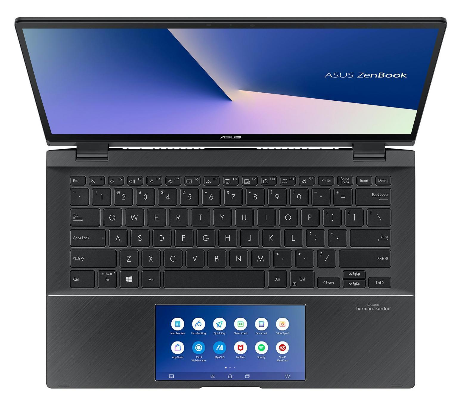 Ordinateur portable Asus Zenbook Flip UX463FL-AI085T Gris - MX250, ScreenPad - photo 7